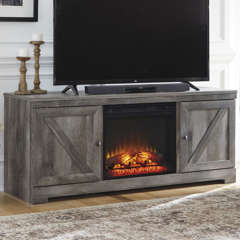 Ashley Wynnlow Large Fireplace Stand