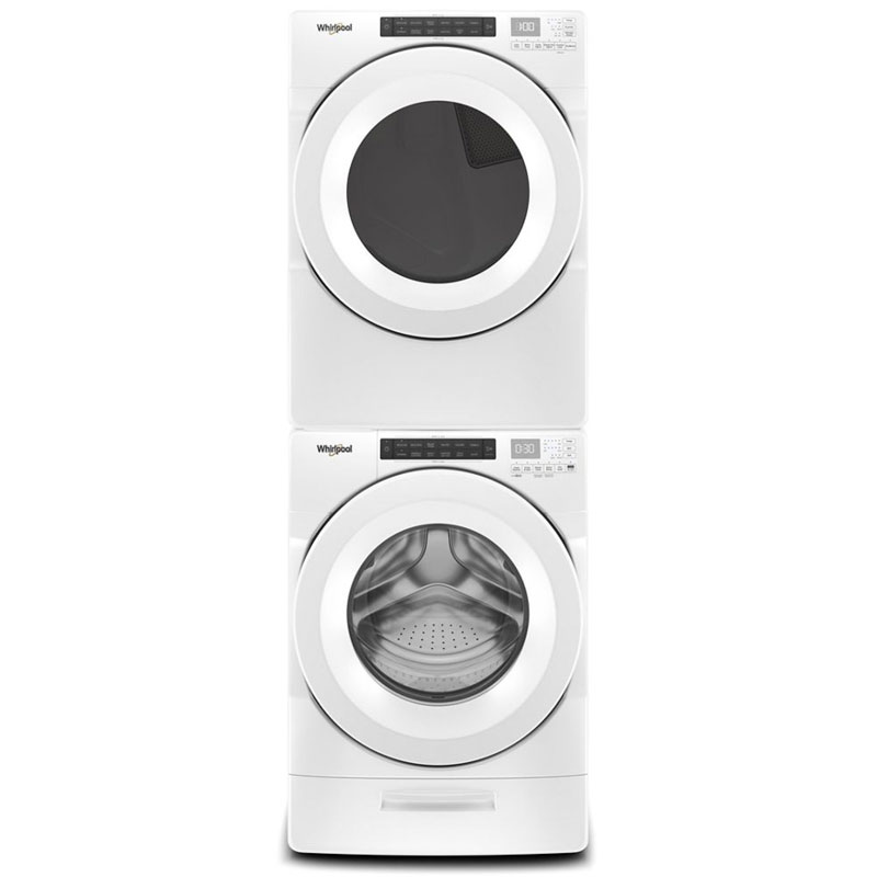 Whirlpool Front Load Washer & Dryer w/ Stack kit