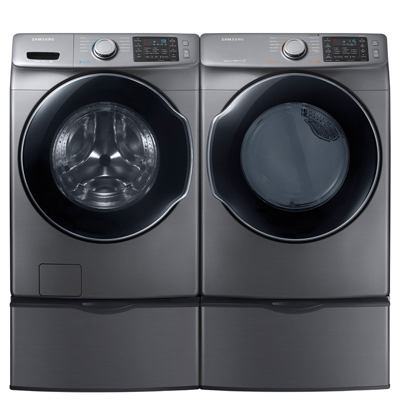 Samsung Platinum Washer Amp Dryer W Pedestals