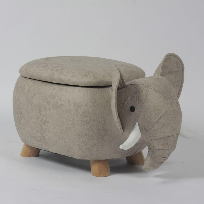 Elephant Storage Ottoman
