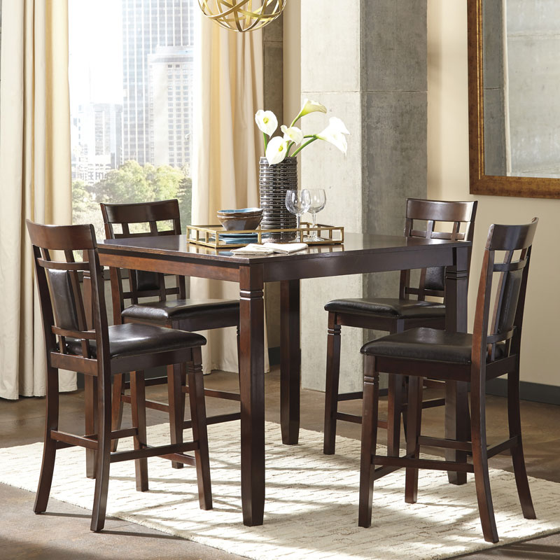 Ashley Bennox 5 Pc. Counter Table Set