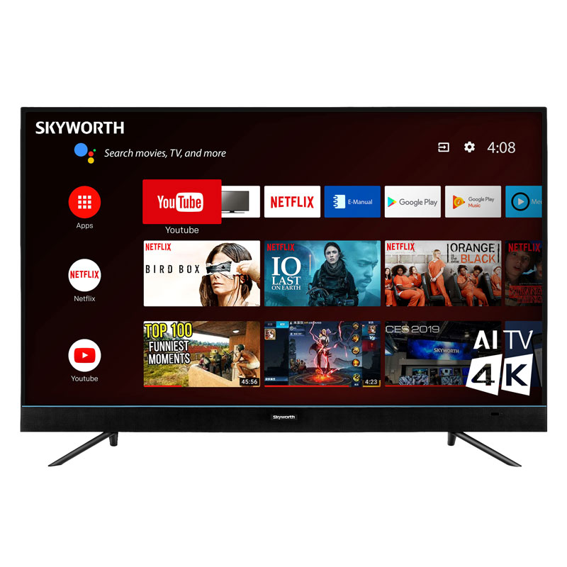 "50"" Skyworth 4K Smart TV"